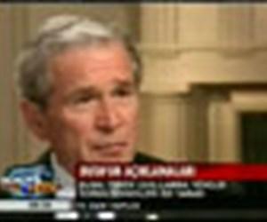 Bush'un açıklamaları