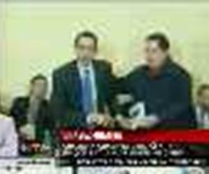 Chavez ile Obama buluşunca...