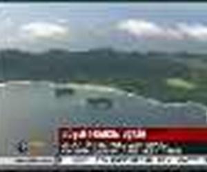 Fransız uçağın enkazı