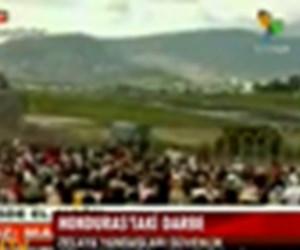Honduras'ta darbe!