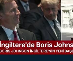 İngiltere'de Boris Johnson dönemi