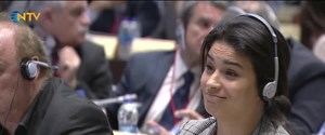 NATO seminerinde soykırım gerilimi