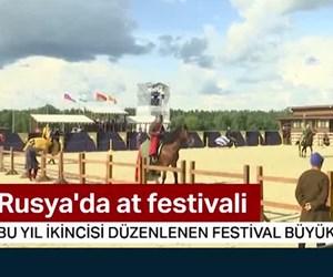 Rusya'da uluslararası at festivali