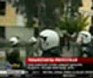 Yunanistan'da protestolar