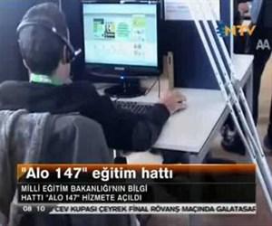 """""""Alo 147"""" eğitim hattı"""
