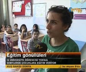 Eğitim gönüllüleri