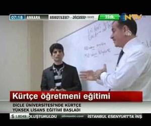 Kürtçe öğretmeni eğitimi