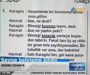 Seviye belirleme sınavı: Türkçe