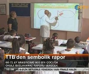TTB'den sembolik rapor
