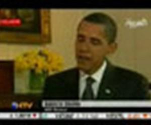 Obama'nın ilk röportajı