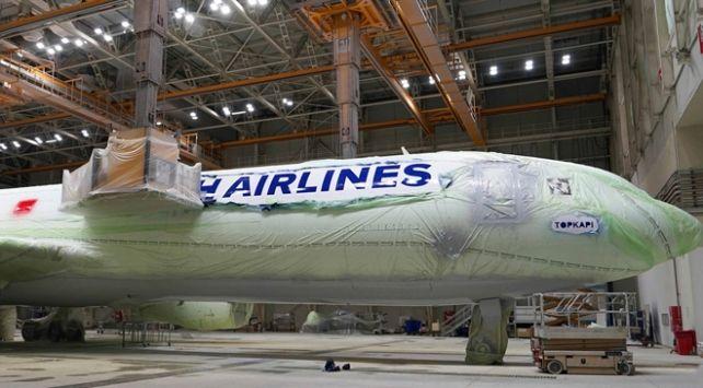 Thy Uçakları Nasıl Boyanıyor Bir Uçak Için 350 Litre Boya Video