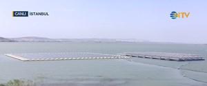 yüzer güneş enerjisi santrali