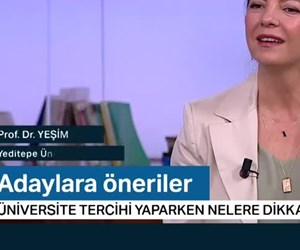 Doğru Tercih (Yeditepe Üniversitesi) 23 Temmuz 2019