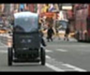 İki tekerlekli şehir aracı P.U.M.A
