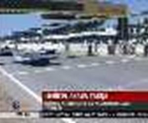 İzmir'de araba yarışı