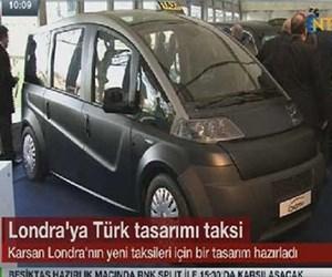 Londra'ya Türk tasarımı taksi