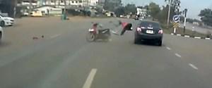 motosiklet kaza