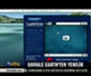 Google Earth'ten yenilik