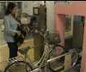 Japonlardan bisikletler için otomatik otopark