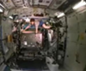 Uzay istasyonunda yaşamak