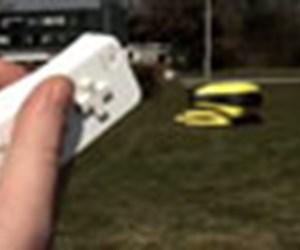 Wii'li çim biçme makinesi