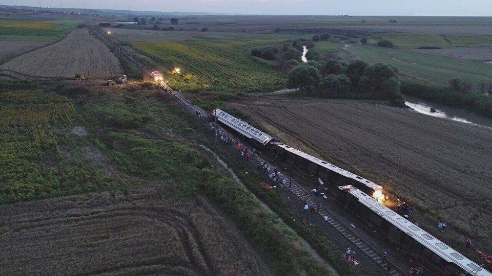 çorluda Tren Kazası Hayatını Kaybedenlerin Sayısı 24e Yükseldi