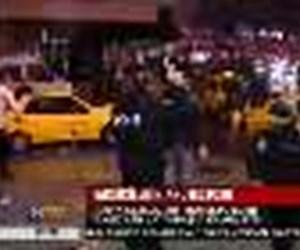 Taksicilerin protestosu