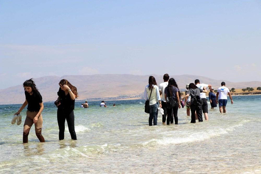Su altındaki antik yoldan Çarpanak Adası'na ulaştılar - 5