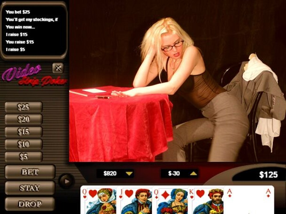 Extreme strip poker uncensored video