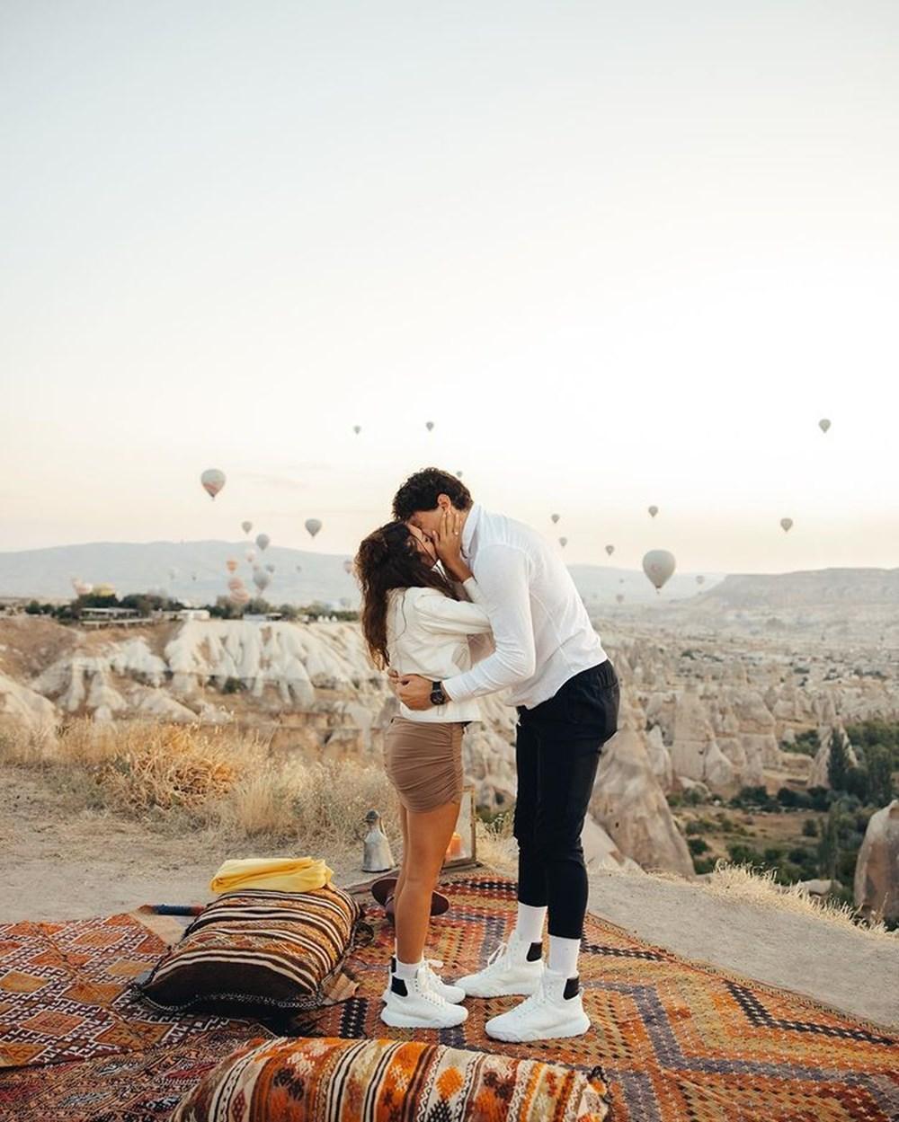 Ebru Şahin, Cedi Osman'ın evlililk teklifini kabul etti - 3