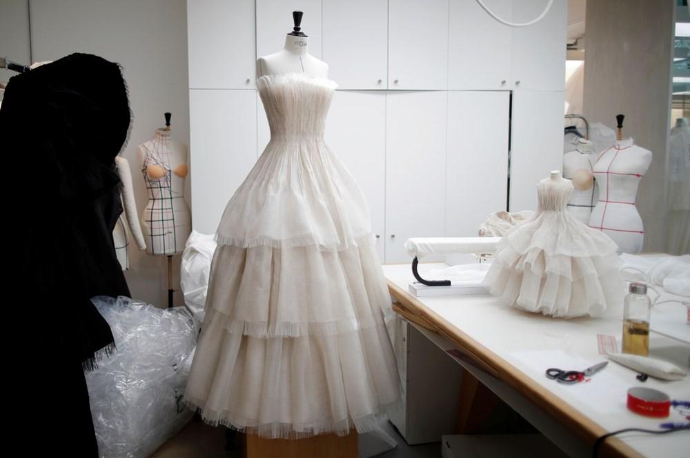 Dior'dan Dijital Moda Haftası için minyatür elbise tasarımları - 13