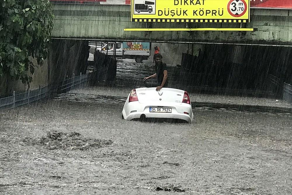 İstanbul'da şiddetli yağmur - 3
