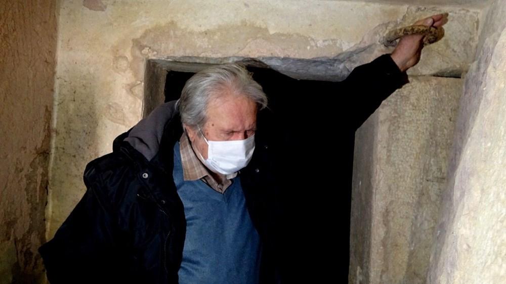 2500 yıllık mezar oda gizemini koruyor - 5