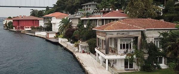 İstanbul Boğazı'nda 60 yalı satılmayı bekliyor