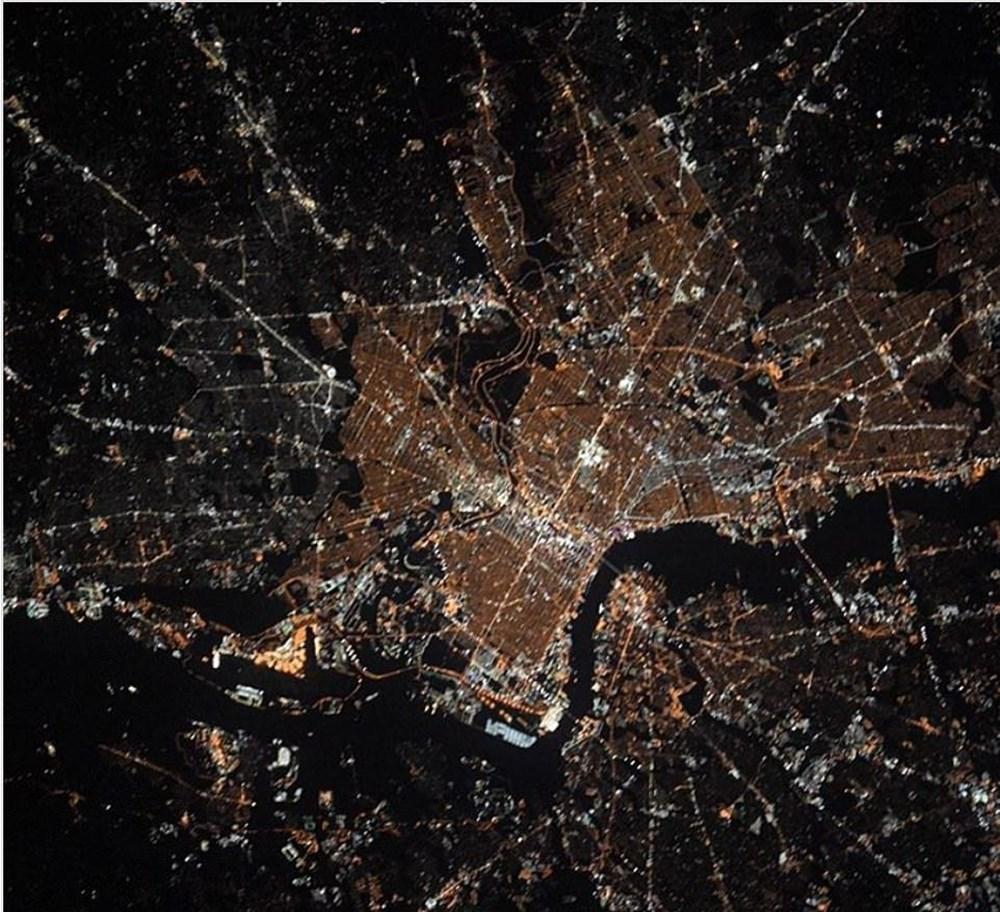 NASA Ankara'dan fotoğraf paylaştı (Astronotların gözünden gezegenimiz) - 5