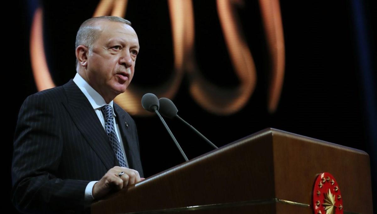 Cumhurbaşkanı Erdoğan: İslam düşmanlığı virüsü özellikle Avrupa ülkelerinde hızla yayılıyor