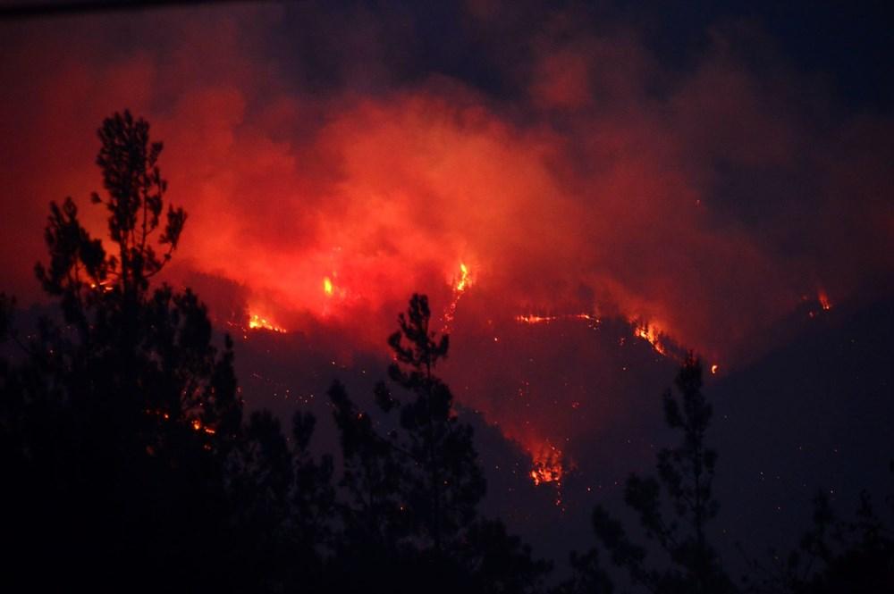 Adana'da orman yangını: 8 köy boşaltıldı - 8
