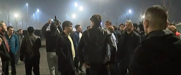 UBER üyesi sürücülerden protesto gösterisi