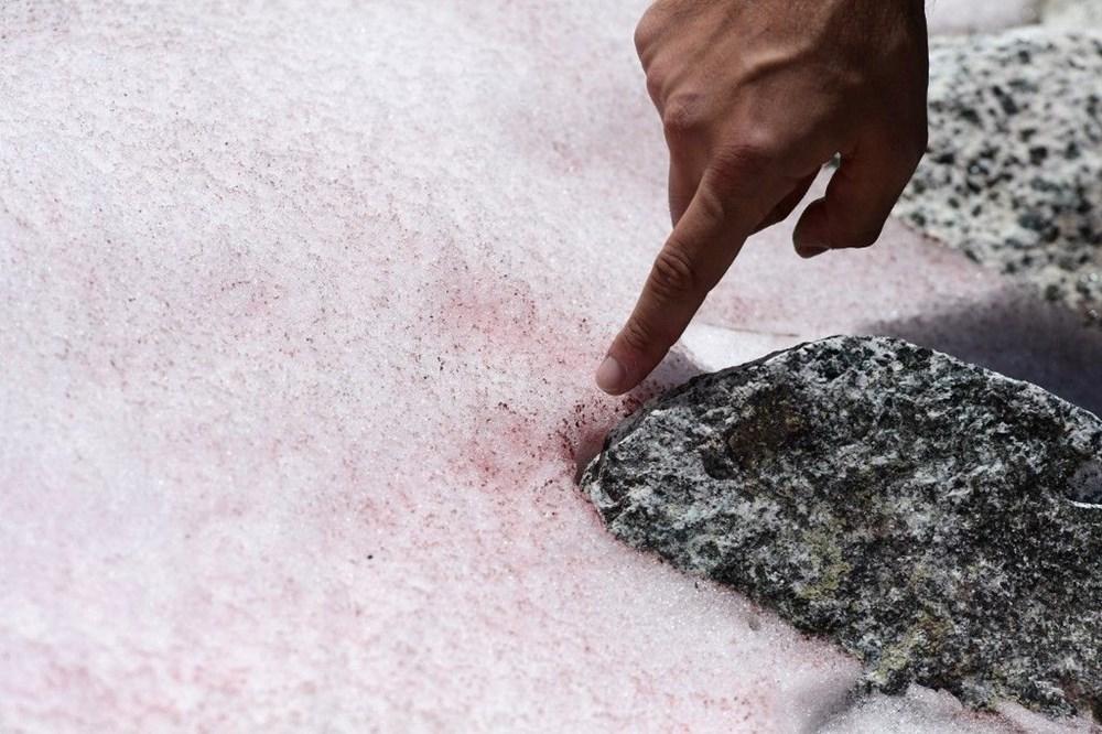 İtalyanlardan Presena buzulunun erimesine karşı muşamba önlemi: Yüzde 70'i korundu - 7
