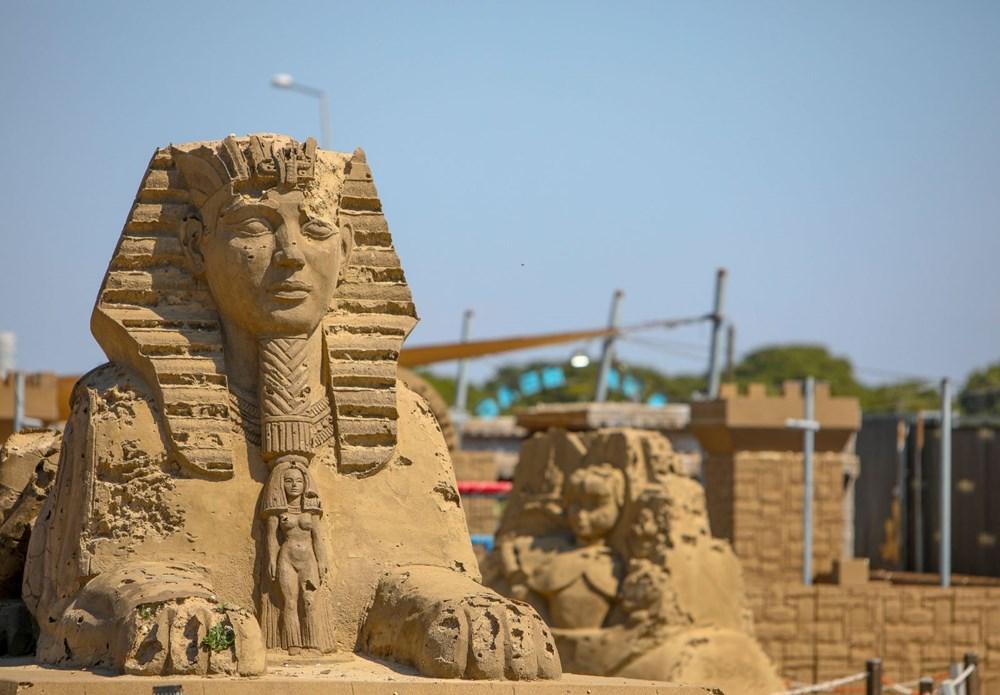 Atlantis, kum heykellerle canlanacak - 9