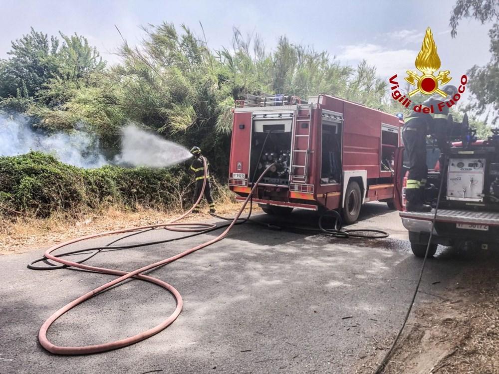 'Benzeri görülmemiş felaket': İtalya Sardunya Adası'nda yangın - 9