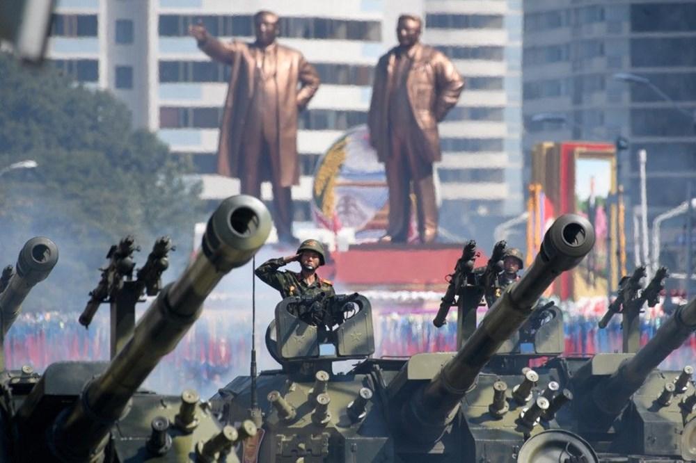Kuzey Kore tarihi geçit törenine hazırlanıyor - 9