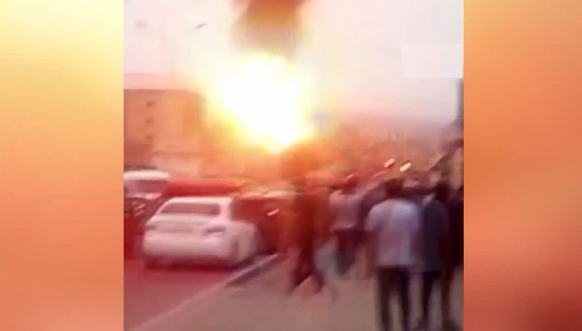 Tacikistan'da akaryakıt istasyonunda patlama