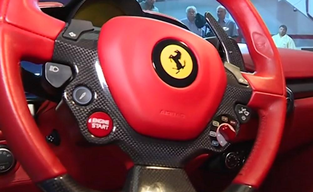 Tosuncuk'un Uruguay maceraları 3: Başını yakan Ferrari'nin görüntüleri ortaya çıktı - 9