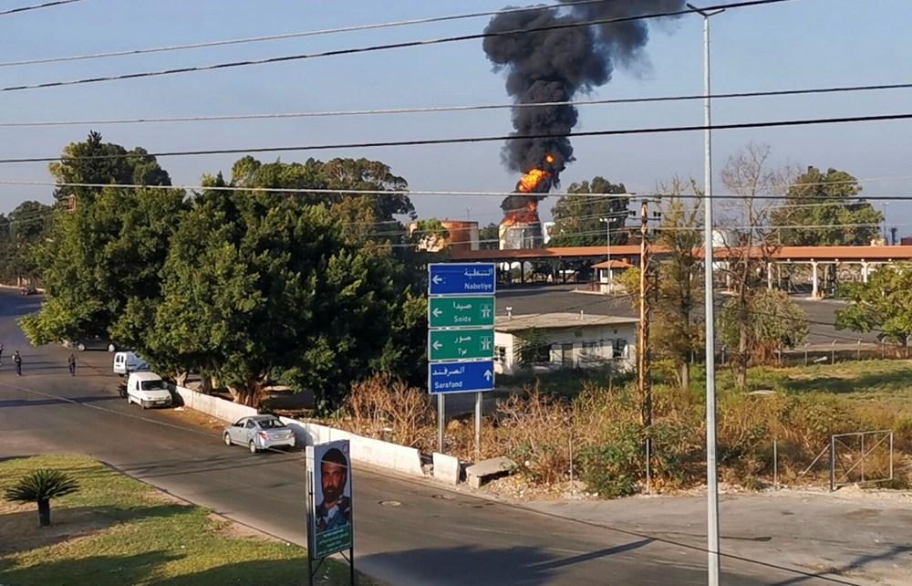 Lübnan'da petrol tesisinde yangın - 6