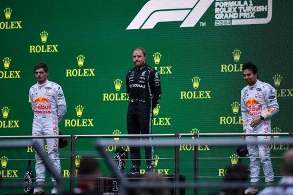 Formula 1 Türkiye Grand Prix'sinde kazanan Valtteri Bottas - 5