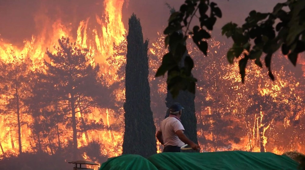 Antalya Manavgat'taki yangın kontrol altında - 5