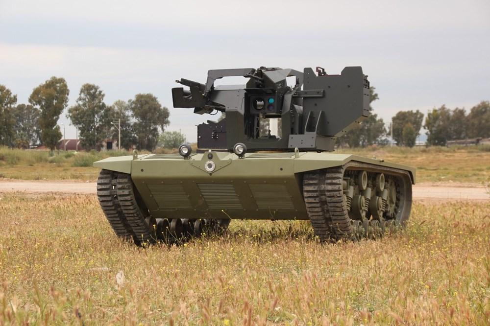 Silahlı drone Songar, askeri kara aracına entegre edildi (Türkiye'nin yeni nesil yerli silahları) - 42