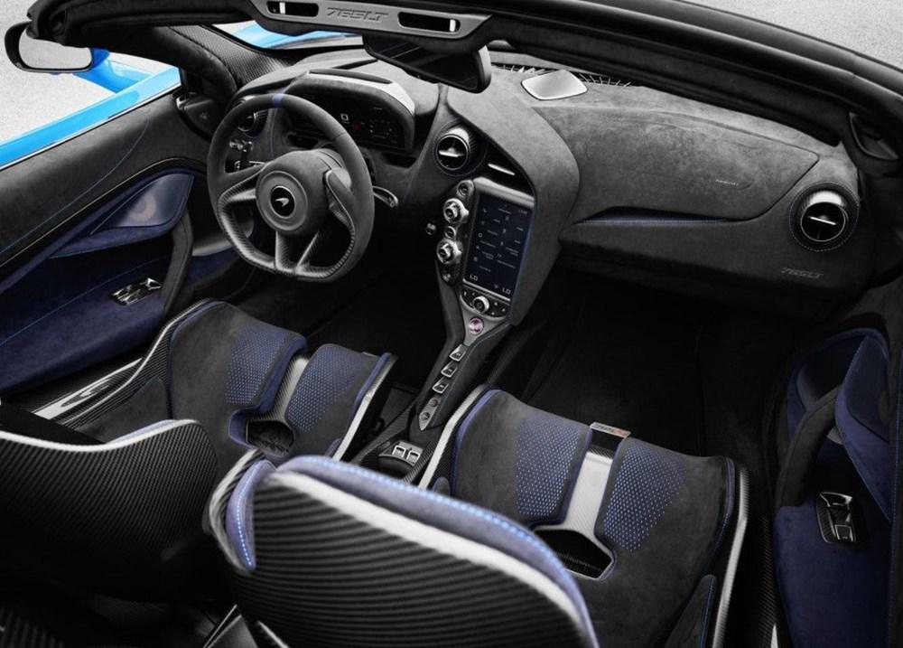McLaren tarihinin en hızlı üstü açık modeli tanıtıldı:  765LT Spider - 4