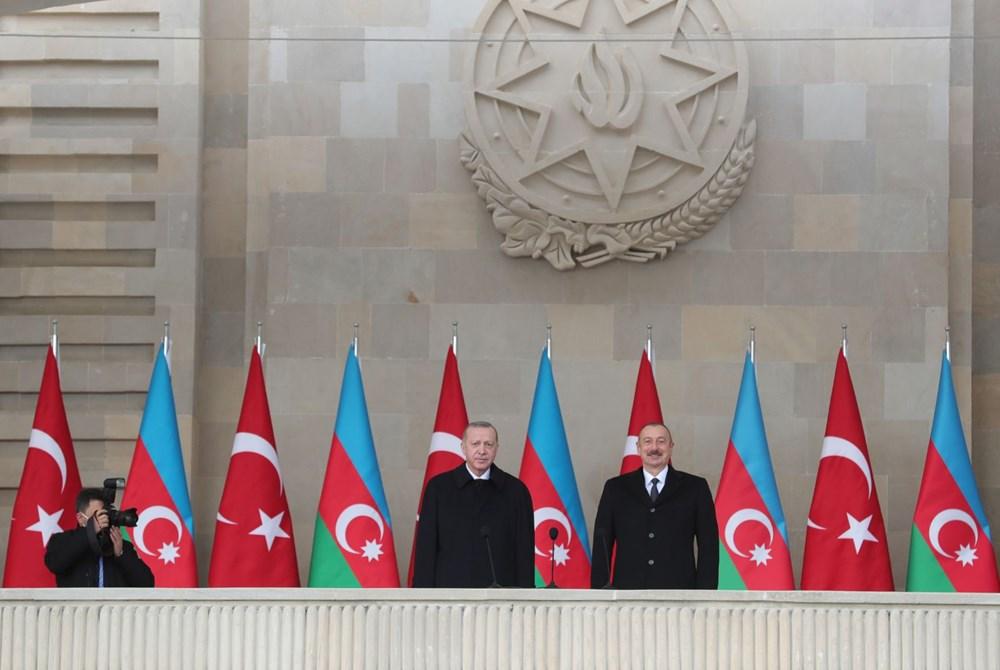 Bakü'de Karabağ zaferi kutlaması - 7